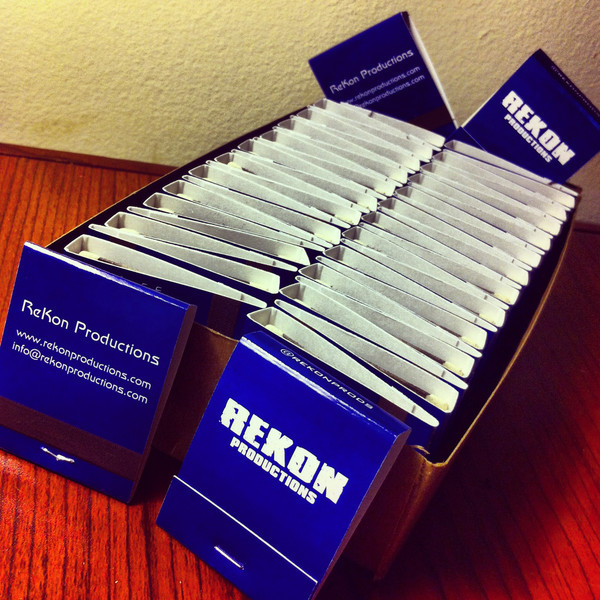 02/07/2013:<br /> ReKon gets its marketing on!  We have plenty of these in our office, so visit us and grab a book.
