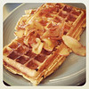 01/13/2013:<br /> To start off Sunday morning I made Pumpkin Apple waffles, which were absolutely delicious!  It deserved to get some recognition.