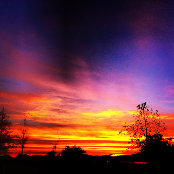 01/29/2013:<br /> Another amazing sunset in LA.  Such as shame we have so many.
