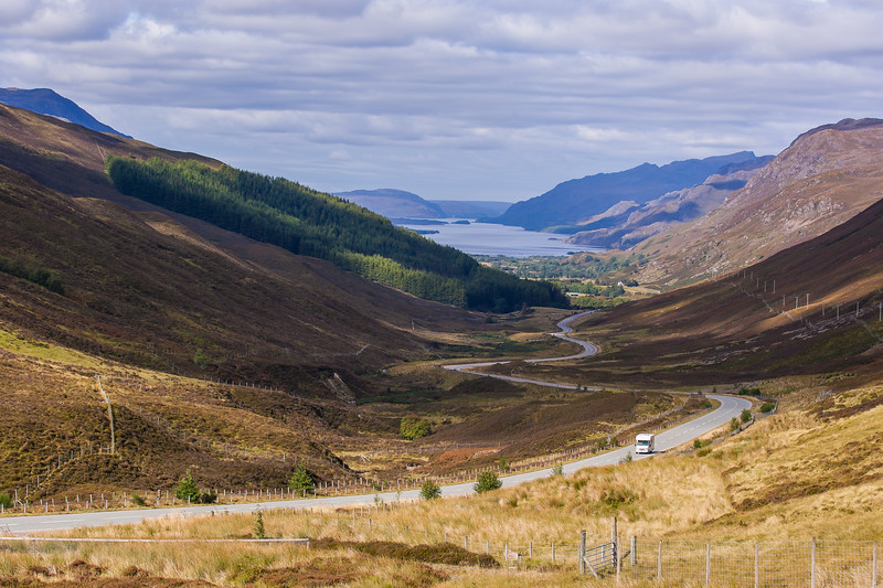 Loch Maree from Glen Docherty