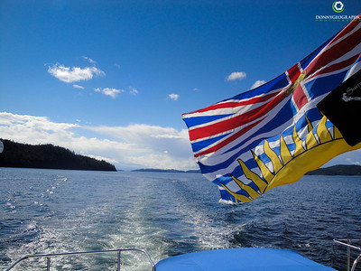 Yachting in Desolation Sound BC