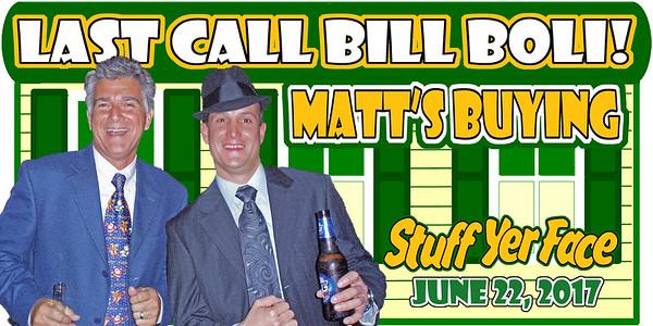 2017 Last Call Bill Boli and Matt's Buying