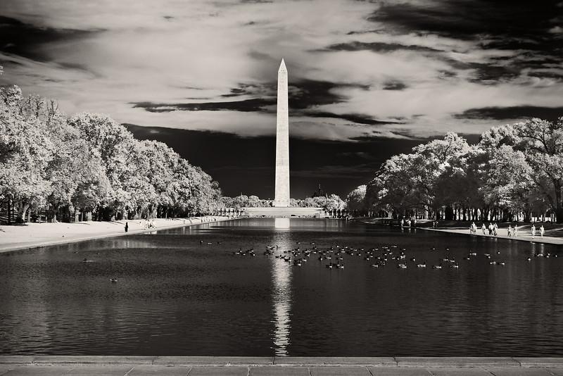 National Mall Reflecting Pool and Washington Monument