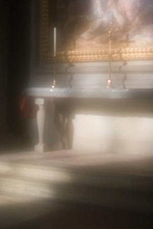 Interior detail of Santa Croce