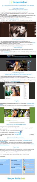 e-news for jR Customization - e-news by Adrienne