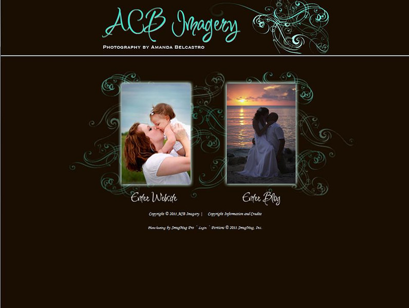 """<p class=""""ContentText""""> ACB Imagery – Texas photographer specializes in portrait, wedding and engagement photography<br><br> SmugMug Customization and WordPress Integration -  By jR Customization </p>  <p class=""""ContentSubHeader""""> <a href=""""http://www.acbimagery.com/"""" target=""""_blank"""" onClick=""""javascript: pageTracker._trackPageview('/outgoing/http://www.acbimagery.com/);"""">ACB Imagery</a> </p>  <p class=""""ContentText""""> - Texas photographer<br> - Specializes in portrait, wedding and engagement photography<br> - Web site is at <a href=""""http://www.acbimagery.com/"""" target=""""_blank"""" onClick=""""javascript: pageTracker._trackPageview('/outgoing/http://www.acbimagery.com/);"""">ACB Imagery</a><br> - Entire Web Site Hosted via Smugmug<br>  </p>"""