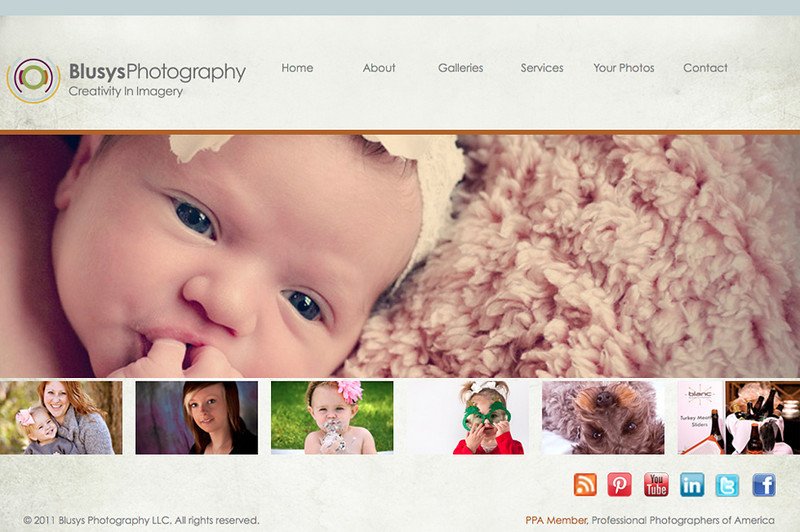 "<p class=""ContentText""> Blusys Photography – Nebraska photographer specializes in portrait and event photography <br><br> SmugMug Customization - By jR Customization </p>  <p class=""ContentSubHeader""> <a href="" http://www.blusysphotography.com/ "" target=""_blank"" onClick=""javascript: pageTracker._trackPageview('/outgoing/ http://www.blusysphotography.com/);"">Blusys Photography</a> </p>  <p class=""ContentText""> - Nebraska photographer<br> - Specializes in portrait and event photography<br> - Web site is at <a href="" http://www.blusysphotography.com/ "" target=""_blank"" onClick=""javascript: pageTracker._trackPageview('/outgoing/ http://www.blusysphotography.com/);"">Blusys Photography</a><br> - Entire Web Site Hosted via Smugmug<br>  </p>  </p>"