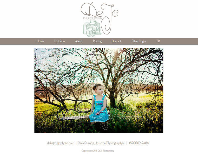 """DeJo Photography from Arizona<br /> <br /> Specializes in Portrait Photography & Senior Photography.<br /> <br /> Web Site can be found at: <a href=""""http://www.dejophoto.com"""">http://www.dejophoto.com</a><br /> <br /> SmugMug Customization by jR Customization"""