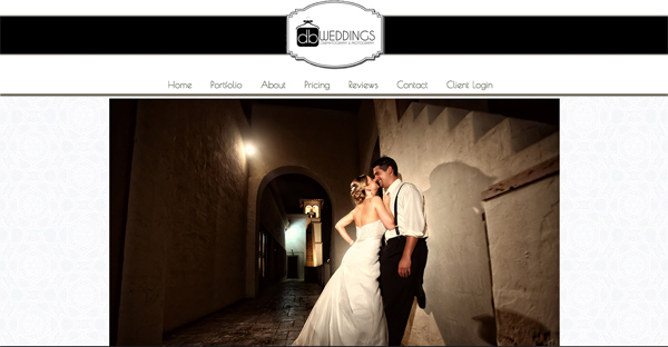"""db Weddings from Georgia<br /> Specializes in Wedding Photography,Videography,<br /> Web Site can be found at : <a href=""""http://www.db-weddings.com/"""">http://www.db-weddings.com/</a><br /> SmugMug Customization by jR Customization"""