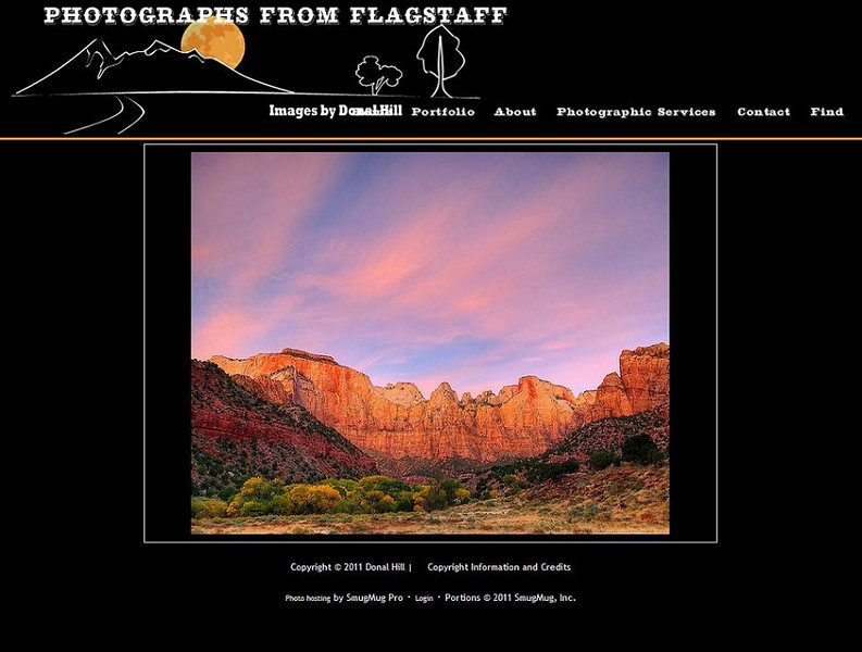 "<p class=""ContentText""> Photographs From Flagstaff – Colorado photographer specializes in wildlife and nature photography<br><br> SmugMug Customization -  By jR Customization </p>  <p class=""ContentSubHeader""> <a href=""http://www.fotosfromflag.com/"" target=""_blank"" onClick=""javascript: pageTracker._trackPageview('/outgoing/http://www.fotosfromflag.com/);"">Photographs From Flagstaff</a> </p>  <p class=""ContentText""> - Colorado photographer<br> - Specializes in wildlife and nature photography<br> - Web site is at <a href=""http://www.fotosfromflag.com/"" target=""_blank"" onClick=""javascript: pageTracker._trackPageview('/outgoing/http://www.fotosfromflag.com/);"">Photographs From Flagstaff</a><br> - Entire Web Site Hosted via Smugmug<br>  </p>"