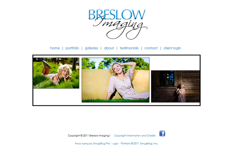 "<p class=""ContentText""> Breslow Imaging- Photographer specializes in portrait, wedding, sports and event photography<br><br> SmugMug Customization -  By jR Customization </p>  <p class=""ContentSubHeader""> <a href=""http://www.breslowimaging.com/"" target=""_blank"" onClick=""javascript: pageTracker._trackPageview('/outgoing/http://www.breslowimaging.com/);"">Breslow Imaging</a> </p>  <p class=""ContentText""> - Specializes in portrait, wedding, sports and event photography<br> - Web site is at <a href=""http://www.breslowimaging.com/"" target=""_blank"" onClick=""javascript: pageTracker._trackPageview('/outgoing/http://www.breslowimaging.com/);"">Breslow Imaging</a><br> - Entire Web Site Hosted via Smugmug<br>  </p>  </p>"