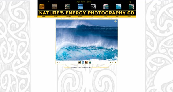 "<p class=""ContentSubHeader""> <a href=""http://energyphoto.smugmug.com"" target=""_blank"" onClick=""javascript: pageTracker._trackPageview('/outgoing/energyphoto.smugmug.com');"">Nature's Energy Photography Co</a> </p> <p class=""ContentText""> - Maine photographer specializes in Surfing Photography throughout the world<br> - Web site is at <a href=""http://energyphoto.smugmug.com"" target=""_blank"" onClick=""javascript: pageTracker._trackPageview('/outgoing/energyphoto.smugmug.com');"">Nature's Energy Photography Co</a><br> - Entire Web Site Hosted via Smugmug<br> </p>"