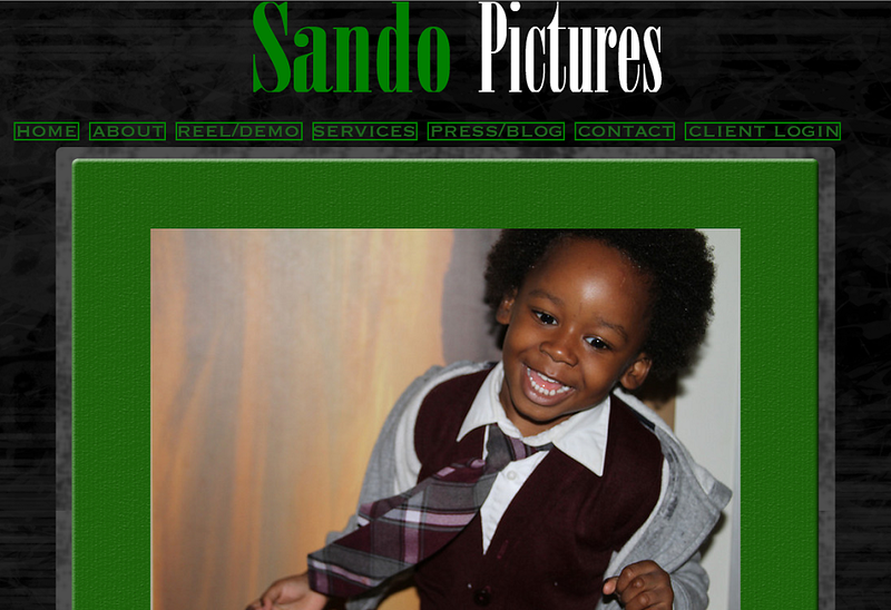 "<p class=""ContentText""> Sando Pictures - Photographer specializes in music videos and event photography<br><br> SmugMug Customization -  By jR Customization </p>  <p class=""ContentSubHeader""> <a href=""http://www.sandopictures.com/"" target=""_blank"" onClick=""javascript: pageTracker._trackPageview('/outgoing/http://www.sandopictures.com/);"">Sando Pictures</a> </p>  <p class=""ContentText""> - Specializes in music videos and event photography<br> - Web site is at <a href=""http://www.sandopictures.com/"" target=""_blank"" onClick=""javascript: pageTracker._trackPageview('/outgoing/http://www.sandopictures.com/);"">Sando Pictures</a><br> - Entire Web Site Hosted via Smugmug<br>  </p>  </p>"