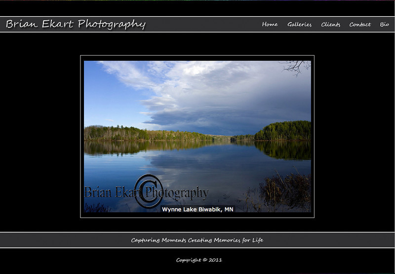 """Brian Ekart Photography – Minnesota Photographer specializes in portraits, sports, and more!! <br><br> SmugMug Customization and Wordpress Design - By jR Customization   <p class=""""ContentSubHeader""""> <a href=""""http://www.brianekartphotography.com/"""" target=""""_blank"""" onClick=""""javascript: pageTracker._trackPageview('/outgoing/http://www.brianekartphotography.com/);"""">Brian Ekart Photography</a> </p> <p class=""""ContentText""""> - Minnesota Photographer<br> - Specializes in portraits, sports, and more!<br> - Web site is at <a href=""""http://www.brianekartphotography.com/"""" target=""""_blank"""" onClick=""""javascript: pageTracker._trackPageview('/outgoing/http://www.brianekartphotography.com/);"""">Brian Ekart Photography</a><br> - Entire Web Site Hosted via Smugmug<br>  </p>"""