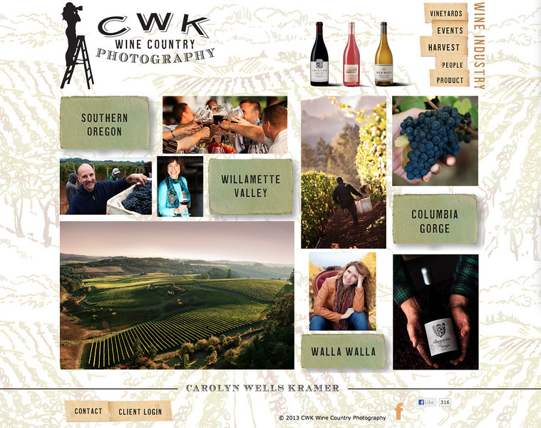 "CWK Wine Country Photography from California<br /> Specializes in Wine Photography and Portrait Photography<br /> <br /> Web Site can be found at :  <a href=""http://www.cwkphotography.com"">http://www.cwkphotography.com</a><br /> SmugMug Customization by jR Customization"