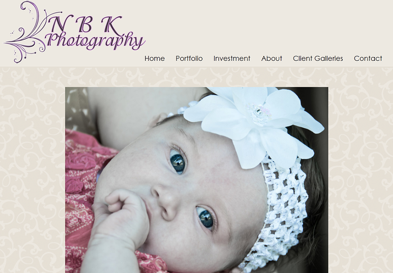 "<p class=""ContentText""> NBK Photography - Photographer specializes in family, children, and equestrian photography<br><br> SmugMug Customization - By jR Customization </p>  <p class=""ContentSubHeader""> <a href="" http://www.nbkphotography.com"" target=""_blank"" onClick=""javascript: pageTracker._trackPageview('/outgoing/ http://www.nbkphotography.com);"">NBK Photography</a> </p>  <p class=""ContentText""> - Specializes in family, children, and equestrian photography<br> - Web site is at <a href="" http://www.nbkphotography.com"" target=""_blank"" onClick=""javascript: pageTracker._trackPageview('/outgoing/ http://www.nbkphotography.com);"">NBK Photography</a><br> - Entire Web Site Hosted via Smugmug<br>  </p>  </p>"