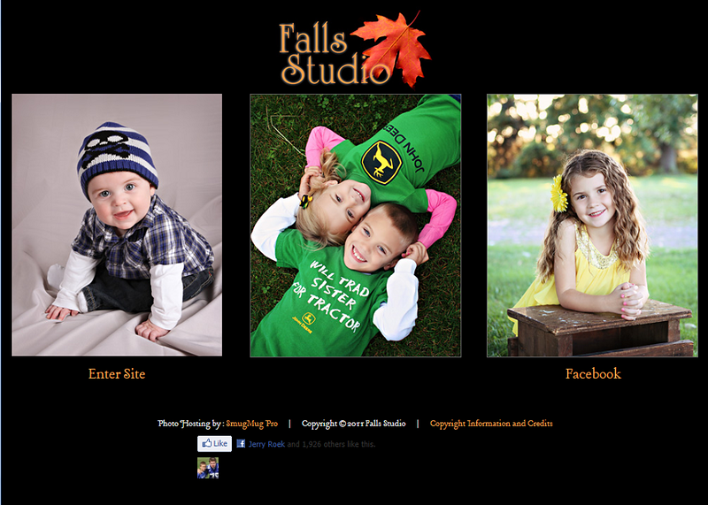 "<p class=""ContentText""> Falls Studio – Wisconsin photographer specializes in portrait, wedding, and engagement photography<br><br> SmugMug Customization - By jR Customization </p>  <p class=""ContentSubHeader""> <a href="" http://www.fallsstudio.com/"" target=""_blank"" onClick=""javascript: pageTracker._trackPageview('/outgoing/ http://www.fallsstudio.com/);"">Falls Studio</a> </p>  <p class=""ContentText""> - Wisconsin photographer<br> - Specializes in portrait, wedding, and engagement photography<br> - Web site is at <a href="" http://www.fallsstudio.com/"" target=""_blank"" onClick=""javascript: pageTracker._trackPageview('/outgoing/ http://www.fallsstudio.com/);"">Falls Studio</a><br> - Entire Web Site Hosted via Smugmug<br>  </p>  </p>"