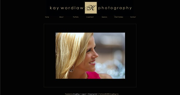 """<p class=""""ContentSubHeader""""> <a href=""""http://www.kaywordlawphotography.com"""" target=""""_blank"""" onClick=""""javascript: pageTracker._trackPageview('/outgoing/kaywordlawphotography.com');"""">Kay Wordlaw Photography</a> </p> <p class=""""ContentText""""> - Southside Alabama Portrait, Weddings, Events and Sports Photographer<br> - Specializes in Portrait, Weddings, Events and Sports Photography<br> - Web site is at <a href=""""http://www.kaywordlawphotography.com"""" target=""""_blank"""" onClick=""""javascript: pageTracker._trackPageview('/outgoing/kaywordlawphotography.com');"""">Kay Wordlaw Photography</a><br> - Entire Web Site Hosted via Smugmug<br> - Graphics Design by"""