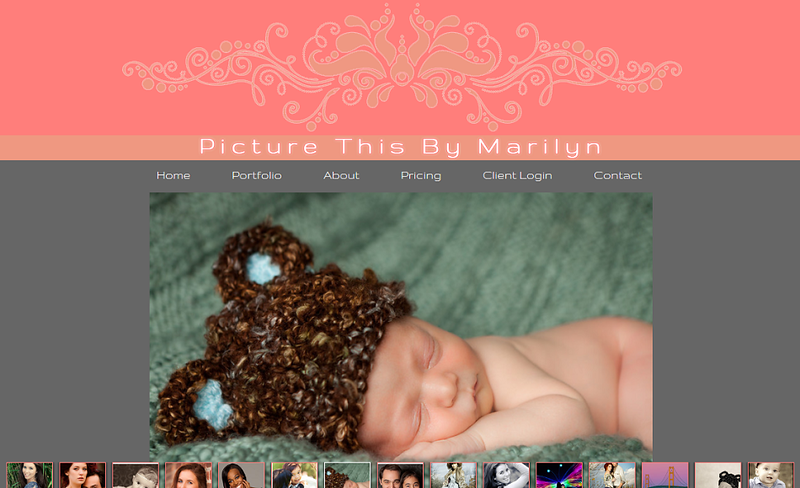 "<p class=""ContentText""> Picture This by Marilyn – Michigan photographer specializes in landscape, event, and portrait photography<br><br> SmugMug Customization - By jR Customization </p>  <p class=""ContentSubHeader""> <a href=""http://www.picturethisbymarilyn.com/"" target=""_blank"" >Picture This by Marilyn</a> </p>  <p class=""ContentText""> - Michigan Photographer<br> - Specializes in landscape, event, and portrait photography<br> - Web site is at <a href=""http://www.picturethisbymarilyn.com/"" target=""_blank"" onClick=""javascript: pageTracker._trackPageview('/outgoing/http://www.picturethisbymarilyn.com/);"">Picture This by Marilyn</a><br> - Entire Web Site Hosted via Smugmug<br>  </p>"
