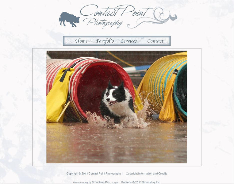 "<p class=""ContentText""> Contact Point Photography – California photographer specializes in portrait, pet, nature and wildlife photography<br><br> SmugMug Customization -  By jR Customization </p>  <p class=""ContentSubHeader""> <a href=""http://www.dogsportphotos.com/"" target=""_blank"" onClick=""javascript: pageTracker._trackPageview('/outgoing/http://www.dogsportphotos.com/);"">Contact Point Photography</a> </p>  <p class=""ContentText""> - California Photographer<br> - Specializes in portrait, pet, nature and wildlife photography<br> - Web site is at <a href=""http://www.dogsportphotos.com/"" target=""_blank"" onClick=""javascript: pageTracker._trackPageview('/outgoing/http://www.dogsportphotos.com/);"">Contact Point Photography</a><br> - Entire Web Site Hosted via Smugmug<br>  </p>"