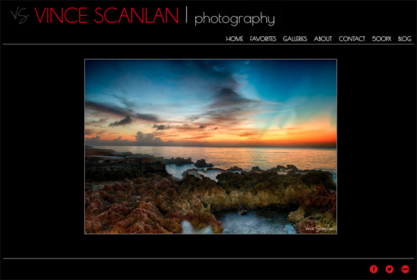 """Vince Scanlan Photography<br /> Specializes in Landscape Photography, Wildlife Photography, Portrait Photography<br /> Web Site can be found at: <a href=""""http://www.vincescanlan.com/"""">http://www.vincescanlan.com/</a><br /> SmugMug Customization by jR Customization"""