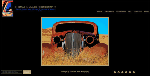 "Thomas F. Black Photography from California<br /> Specializes in  Abstract Photography, Travel Photography, Rusted Relics Photography and Rustic Relics Photography<br /> Web Site can be found at : <a href=""http://www.tfblackphotography.com"">http://www.tfblackphotography.com</a><br /> SmugMug Customization by jR Customization"