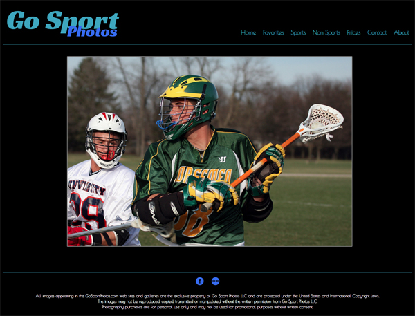"""Go Sports Photo<br /> Specializes in Sports Photography<br /> Web Site can be found at : <a href=""""http://gosportphotos.smugmug.com/"""">http://gosportphotos.smugmug.com/</a><br /> SmugMug Customization by jR Customization"""