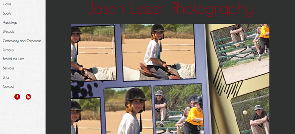 "Jason Leizer Photography from Canada<br /> Specializes in Sports Photography, Wedding Photography,Portrait Photography<br /> Web Site can be found at : <a href=""http://jslphotography.smugmug.com/"">http://jslphotography.smugmug.com/</a><br /> SmugMug Customization by jR Customization"