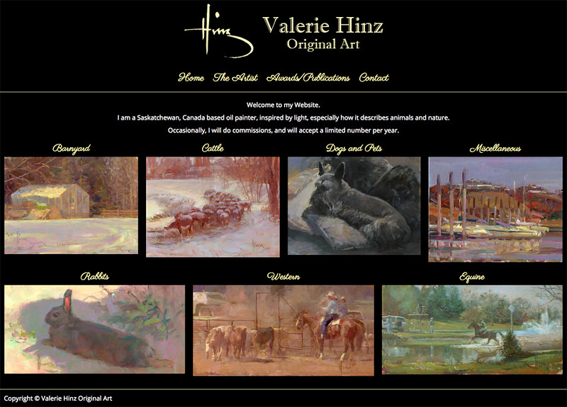 Valerie Hinz Original Art