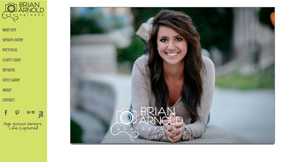 """Brian Arnold Photography from Colorado<br /> Specializes in High School Seniors, Portraits, Performing Arts and Sports Photography<br /> Four Different Theme with separate navigation's <br /> Web Site can be found at : <a href=""""http://www.brianarnoldphotos.com/"""">http://www.brianarnoldphotos.com/</a><br /> SmugMug Customization by jR Customization"""