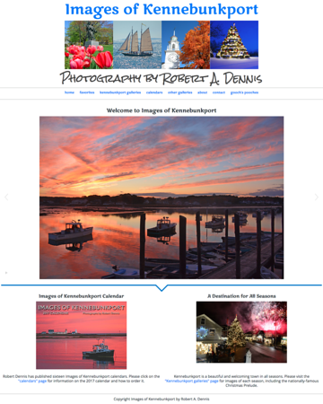 Images of Kennebunkport by Robert A. Dennis