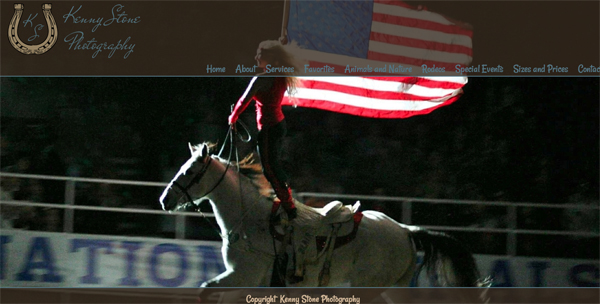 """Kenny Stone Photography - Reno Nevada Photography<br /> Specializes in Rodeo Photography and  Event Photography<br /> Web Site can be found at: <a href=""""http://www.kennystonephotography.com/"""">http://www.kennystonephotography.com/</a><br /> SmugMug Customization by jR Customization"""
