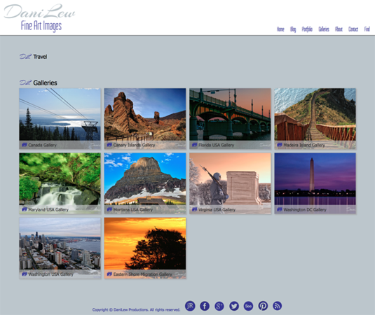 "DaniLew Fine Art Images from Virginia<br /> Specializes in Portrait Photography, Landscape Photography<br /> Web Site can be found at : <a href=""http://www.danilew.com"">http://www.danilew.com</a><br /> SmugMug Customization Wordpress Theme, by jR Customization"