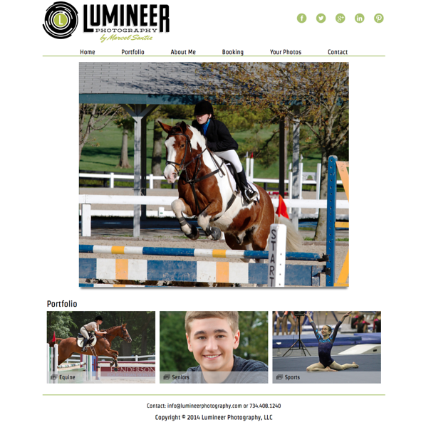 "Lumineer Photography from Michigan<br /> Specializes in Portrait Photography, Senior Photography, and Sports Photography<br /> Web Site can be found at : <a href=""http://www.lumineerphotography.com"">http://www.lumineerphotography.com</a><br /> SmugMug Customization by jR Customization"