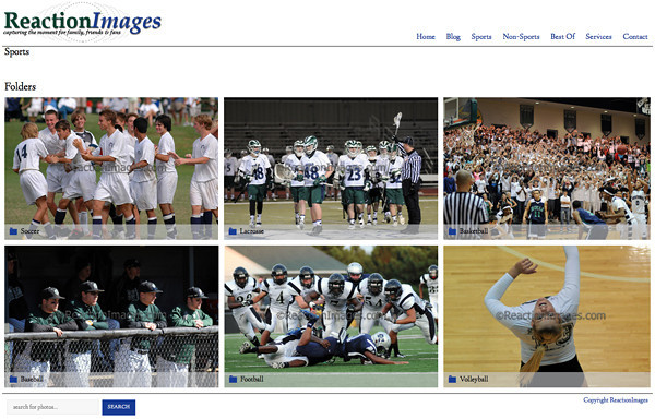 """Reaction Images from Georgia <br /> Specializes in Sports Photography,Portrait Photography,Senior Photography,<br /> Web Site can be found at : <a href=""""http://reactionimages.com"""">http://reactionimages.com</a><br /> SmugMug Customization Wordpress Theme, by jR Customization"""