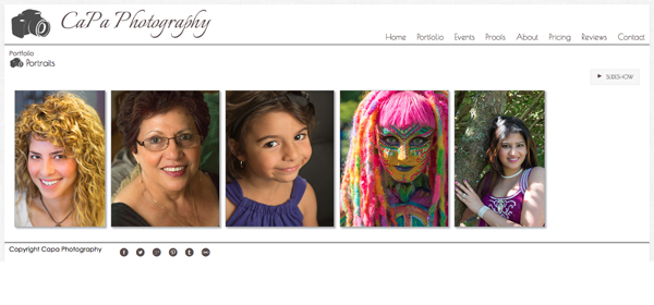 """CaPa Photography from Canada <br /> Specializes in Event Photography,Portrait Photography,<br /> Web Site can be found at : <a href=""""http://www.capaphotography.ca"""">http://www.capaphotography.ca</a><br /> SmugMug Customization by jR Customization"""