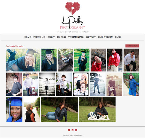 """Lisa Polley Photography from Denton Texas<br /> Specializes in Portrait, Event and Wedding Photography<br /> Web Site can be found at: <a href=""""http://www.lpolleyphotography.com/"""">http://www.lpolleyphotography.com/</a><br /> SmugMug Customization by jR Customization"""
