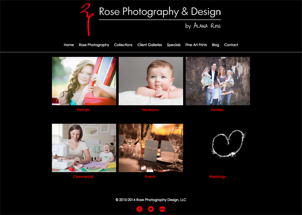 """Rose Photography  and Design from Greensville South Carolina<br /> Specializes in Portrait Photography, Commercial Photography, Event Photography and Wedding Photography<br /> Web Site can be found at: <a href=""""http://www.rosephotographydesign.com/"""">http://www.rosephotographydesign.com/</a><br /> SmugMug Customization by jR Customization"""