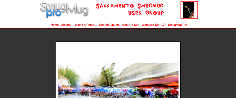 "Sacramento SmugMug User Group  - by jR Customization   <p class=""ContentText""> <br><br> - Web site is at <a href=""http://www.sacsmug.smugmug.com"" target=""_blank"" onClick=""javascript: pageTracker._trackPageview('/outgoing/sacsmug.smugmug.com');"">Sacramento SmugMug User Group</a><br> - Entire Web Site Hosted via Smugmug<br>  </p>"