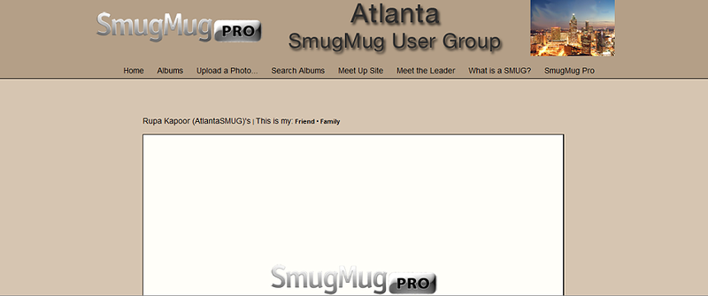 """Atlanta SmugMug User Group  - by jR Customization   <p class=""""ContentText""""> <br><br> - Web site is at <a href=""""http://atlantasmug.smugmug.com/"""" target=""""_blank"""" onClick=""""javascript: pageTracker._trackPageview('/outgoing/atlantasmug.smugmug.com');"""">Atlanta SmugMug User Group</a><br> - Entire Web Site Hosted via Smugmug<br>  </p>"""
