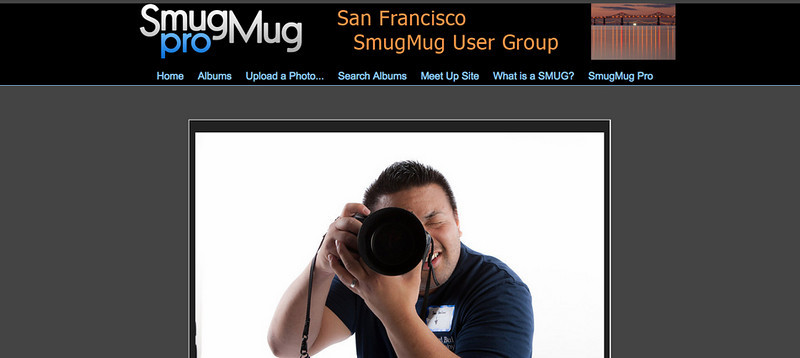 "<p class=""ContentSubHeader""> <a href=""http://www.sfsmug.smugmug.com"" target=""_blank"" onClick=""javascript: pageTracker._trackPageview('/outgoing/www.sfsmug.smugmug.com');"">San Francisco SmugMug User Group</a> </p> <p class=""ContentText""> - San Francisco, California Photographers<br> - Web site is at <a href=""http://www.sfsmug.smugmug.com"" target=""_blank"" onClick=""javascript: pageTracker._trackPageview('/outgoing/www.sfsmug.smugmug.com');"">San Francisco SmugMug User Group</a><br> - Entire Web Site Hosted via Smugmug<br>  </p>"