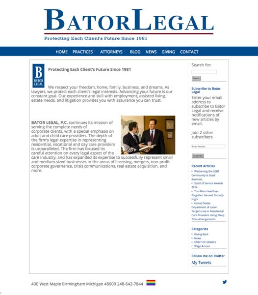 Bator Legal - Birmingham Michigan Law Firm