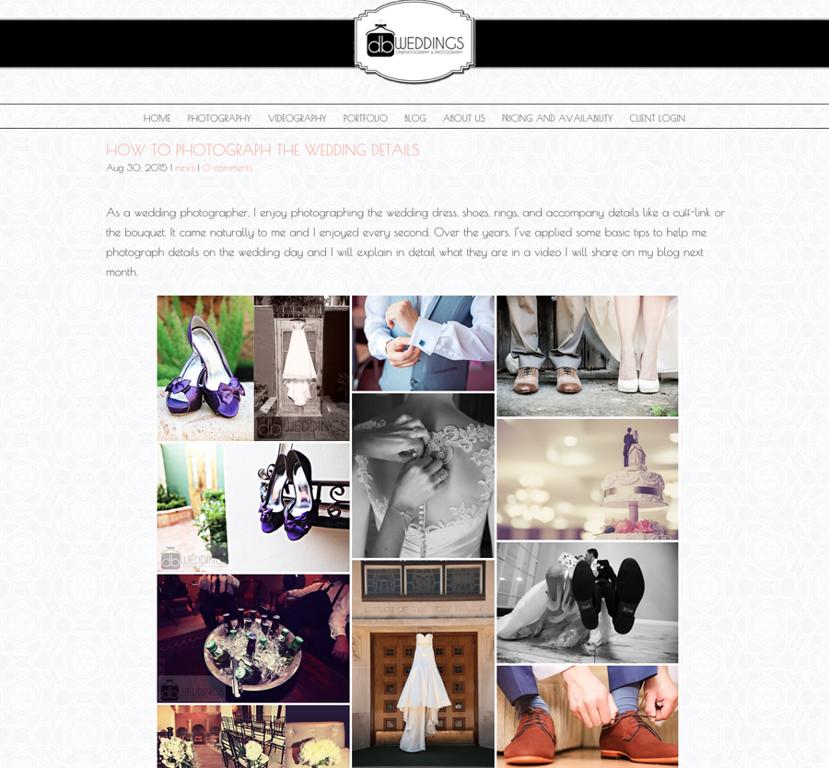 Matching Wordpress Blog - Single Column