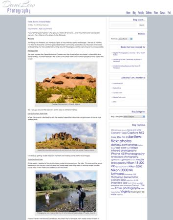 Matching Wordpress Blog - Double Column