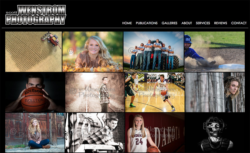 Home Page - Collage of Images