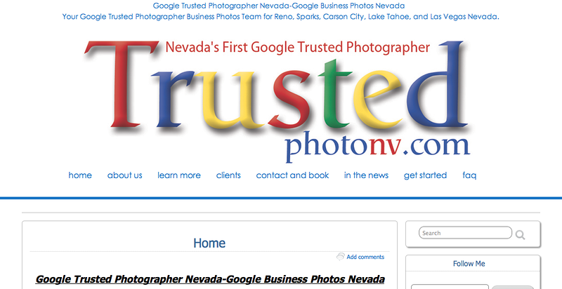 "Nevadas First Google Trusted Photographer from Nevada<br /> Specializes in Event Photography,<br /> Web Site can be found at : <a href=""http://trustedphotographernv.com/"">http://trustedphotographernv.com/</a><br /> SmugMug Customization Wordpress Theme, by jR Customization"