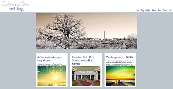 """DaniLew Fine Art Images from Virginia<br /> Specializes in Portrait Photography, Landscape Photography<br /> Web Site can be found at : <a href=""""http://www.danilew.com"""">http://www.danilew.com</a><br /> SmugMug Customization Wordpress Theme, by jR Customization"""