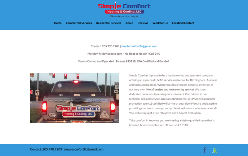 Simple Comfort Heating and Cooling LLC