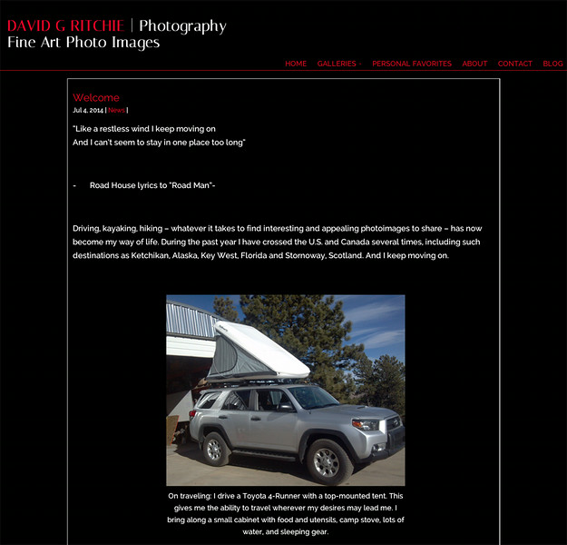 David Ritchie Photography Blog