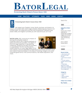 Bator Legal - Birmingham Michigan Law Firm